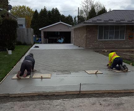 Concrete Driveway, Windsor, Ontario